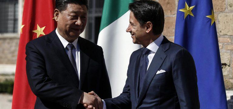 LIBERIAMO L'ITALIA DALLA SUDDITANZA ALLE MIRE EGEMONICHE DELLA CINA